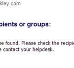 Trying to Report the Oakley Scam - Failure