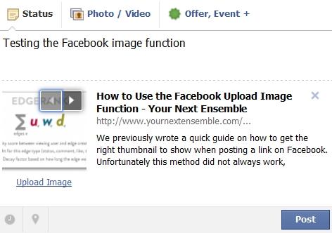 Upload Image Function