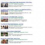 Google Video Search Results